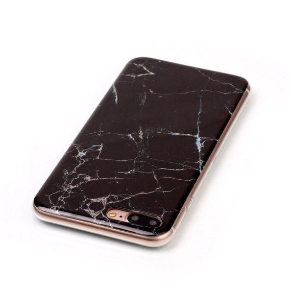 Elastyczne etui marmurkowe na Iphone 6 plus/6s plus – czarny