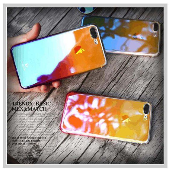 Obudowa Iphone 6 Plus/6S Plus refleks świetlny RÓŻNE KOLORY (różowy, niebieski, fioletowy)