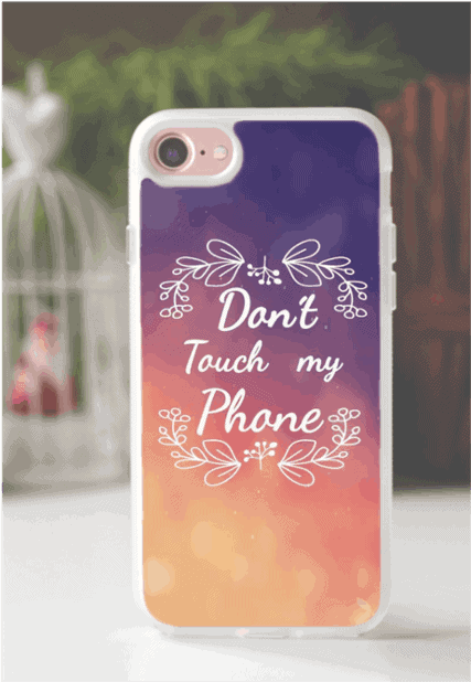 don't touch my phone etui iphone