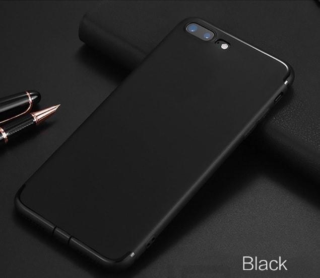 czarny elastyczny case iphone