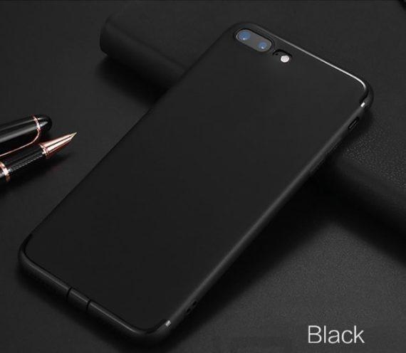 Etui do Iphone X/XS elastyczne czarne silikonowe