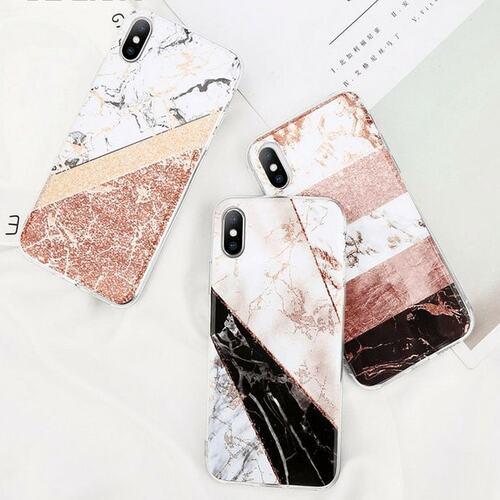 Etui Do Iphone 7 Brokatowy Marmur