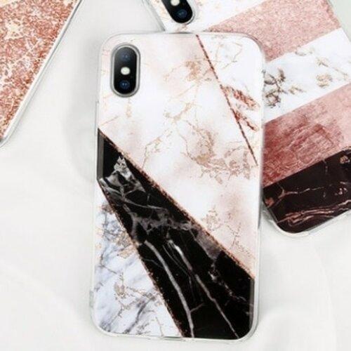 Etui Iphone Zloty Brokat