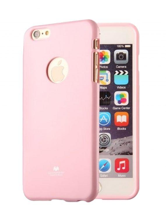 Etui Iphone 7 8 Silikonowe Różowe