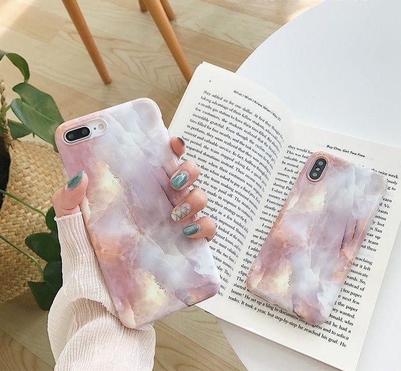 marmurkowy case iphone