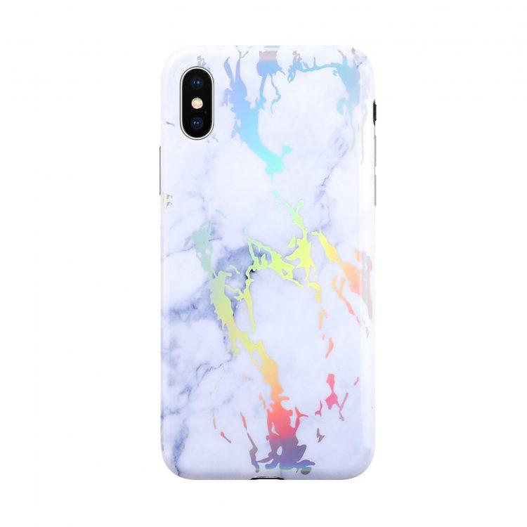 Mock Up Etui Iphone X Xs Hologram Bialy