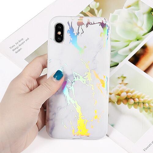 Mock Up Etui Iphone X Xs Hologram Bialy 3