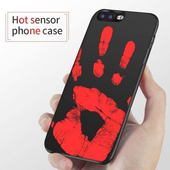 Elastyczne etui na Iphone 6 Plus/6S Plus TERMO ZMIANA KOLORU  Czarny