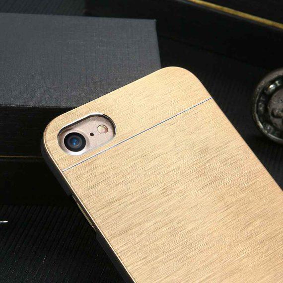 Eleganckie solidne etui do Iphone 6 Plus/6S Plus – złote