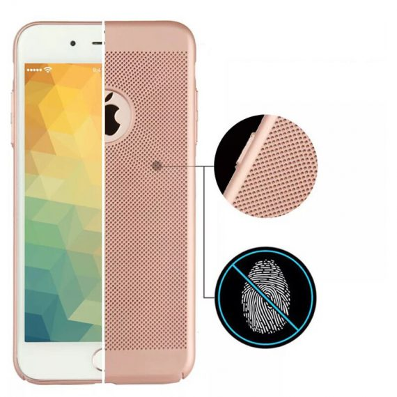 Etui Oddychające Iphone X Xs Złoty