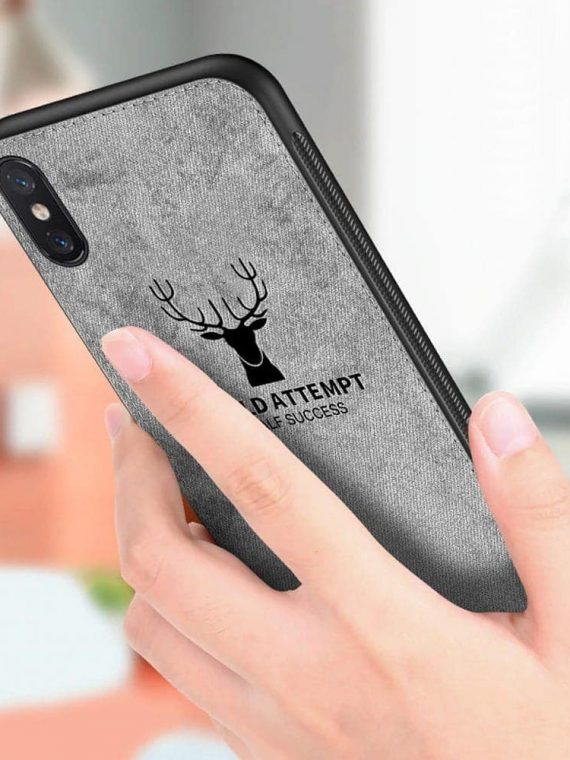 Etui Dzinsowe Iphone X Xs Jelen 2