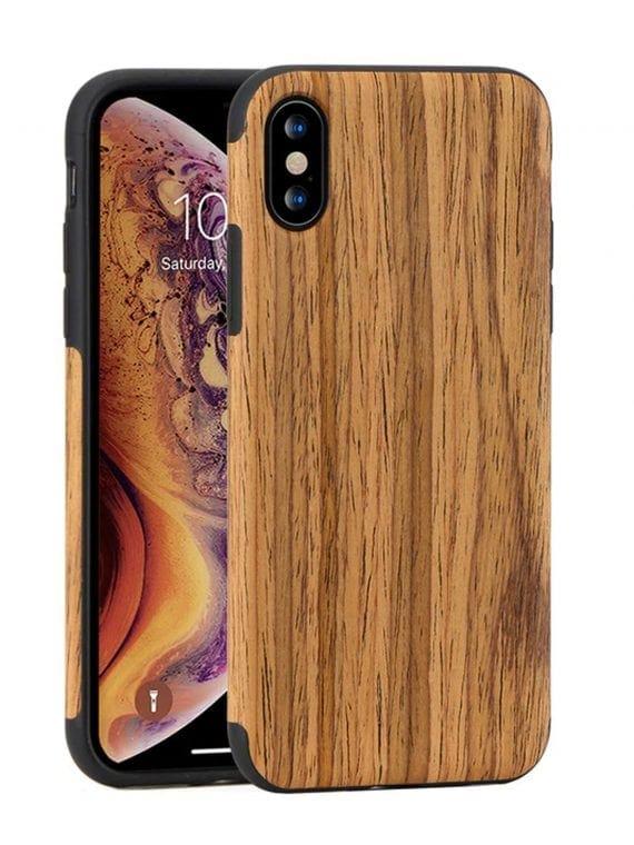Etui Iphone X Xs Drewno