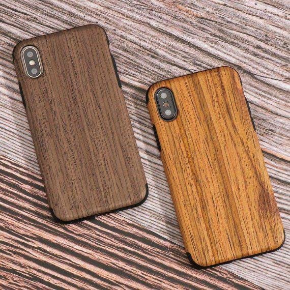 Etui Iphone X Xs Drewno 3