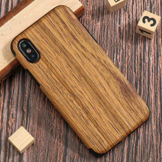 Etui Iphone X Xs Drewno 4