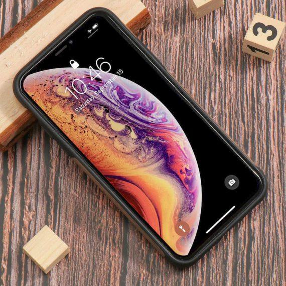Etui Iphone X Xs Drewno 5