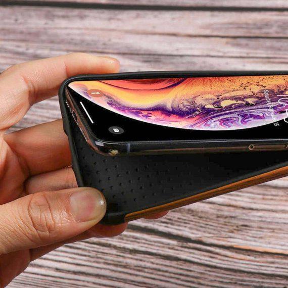 Etui Iphone X Xs Drewno 6