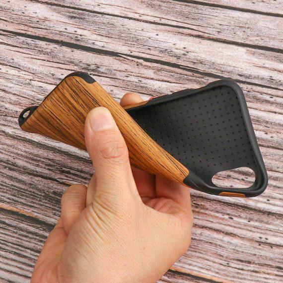 Etui Iphone X Xs Drewno 7