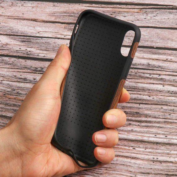 Etui Iphone X Xs Drewno 8