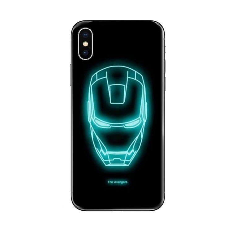 Etui Iphone X Xs Fluoryscentne Iron Man