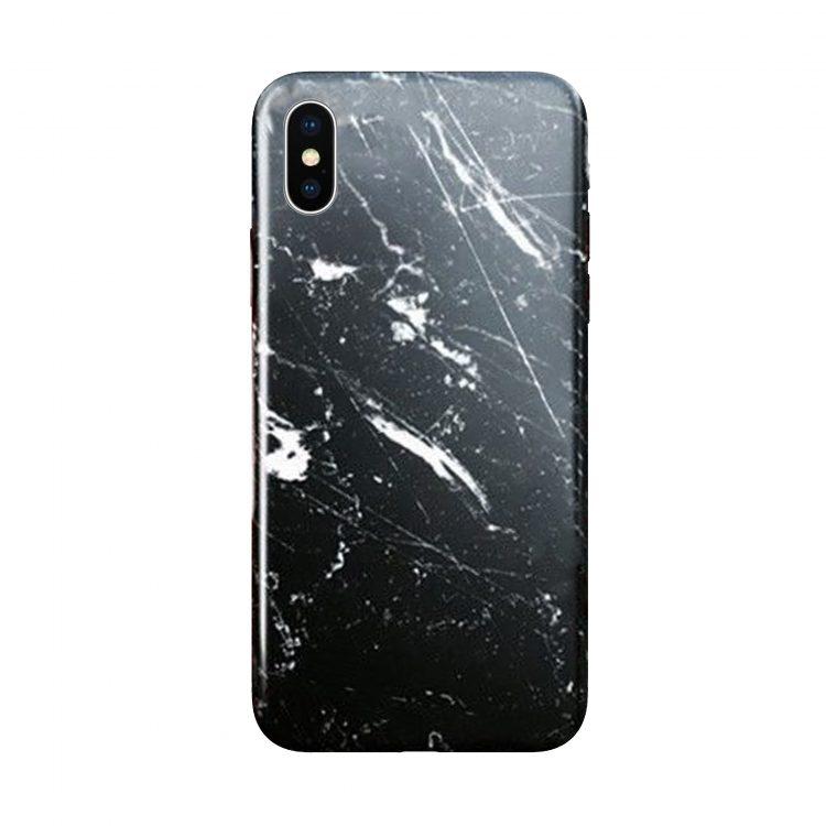 Etui Iphone X Xs Marmur Czarny
