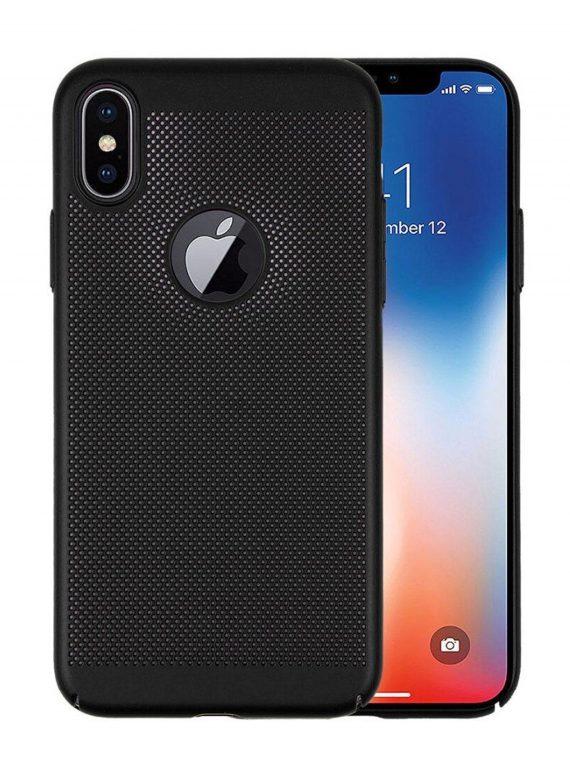 Etui Iphone X Xs Oodychające Czarne