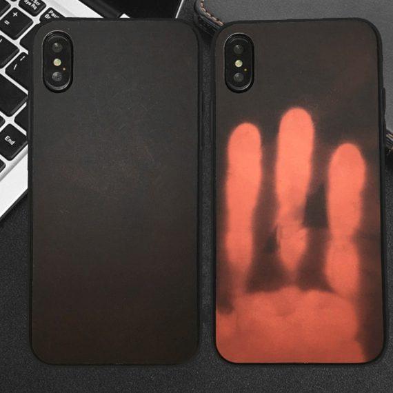 Etui Iphone X Xs Termo Czarne 3