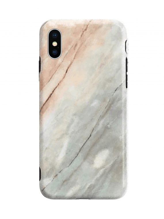 Etui Iphone X Xs Zielony Marmur