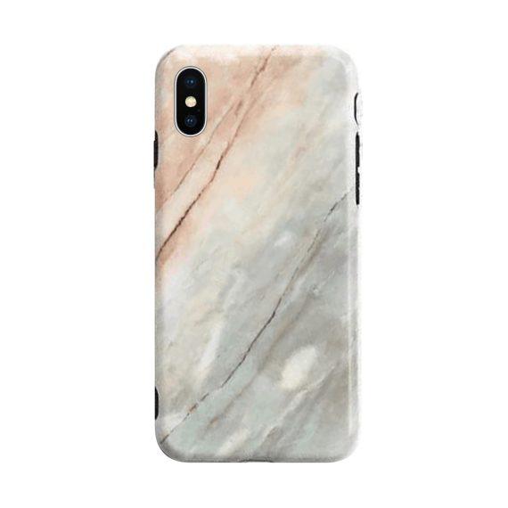 Etui Iphone X Xs Zielony Marmur