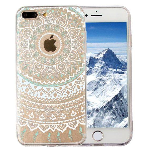 Etui BIAŁA MANDALA Iphone 6 Plus/6S Plus  – magiczne etui