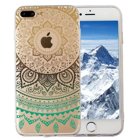 Etui ZIELONA MANDALA Iphone 6 Plus/6S Plus – magiczne etui