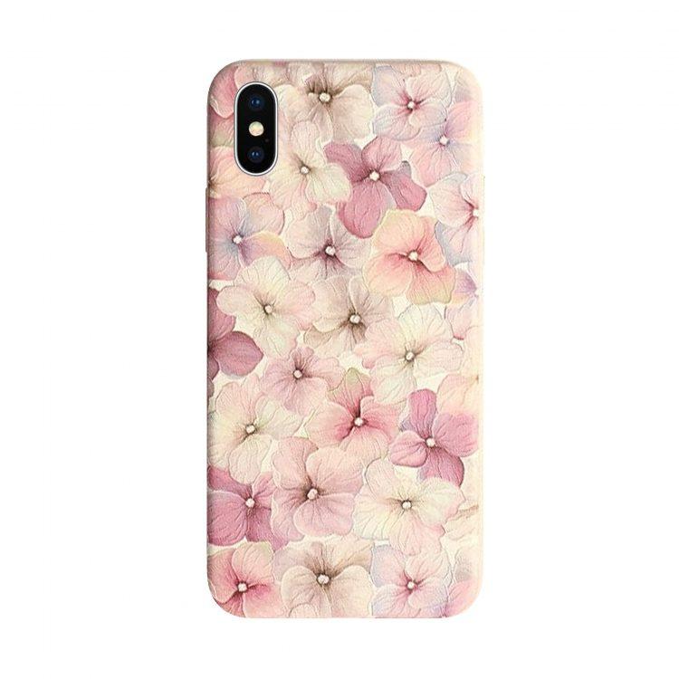 Mock Up Etui Iphone Kwiaty X Xs