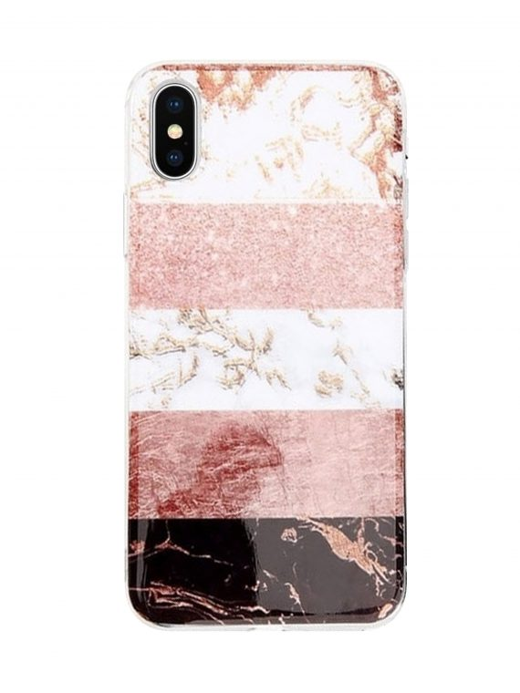 Mock Up Etui Iphone Marmur Brokat X Xs