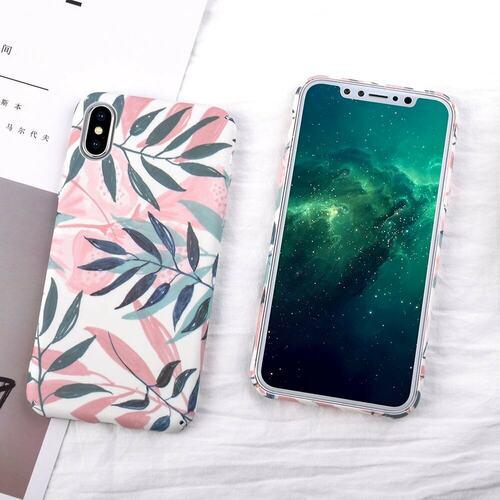 Mock Up Etui Iphone Z Liściami Palmy X Xs 2