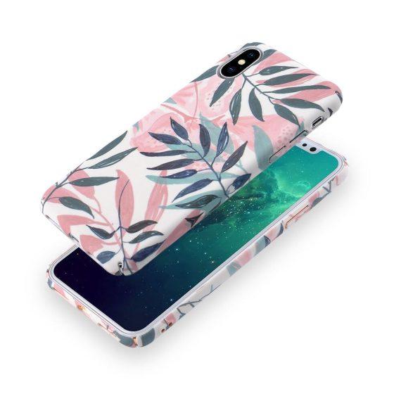 Mock Up Etui Iphone Z Liściami Palmy X Xs 3