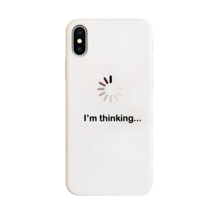 Etui Imthinking Białe Do Phone X Xs