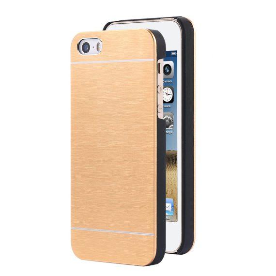 Etui do iPhone SE2020/8/7 eleganckie aluminiowe złote