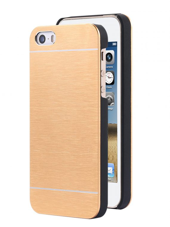 Etui Iphone 7 8 Aluminiowe Złote 1