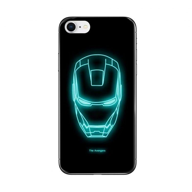 Etui Iphone 7 8 Fluoryscentne Iron Man