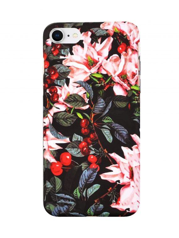 Etui Iphone 7 8 Kwiat Wiszni