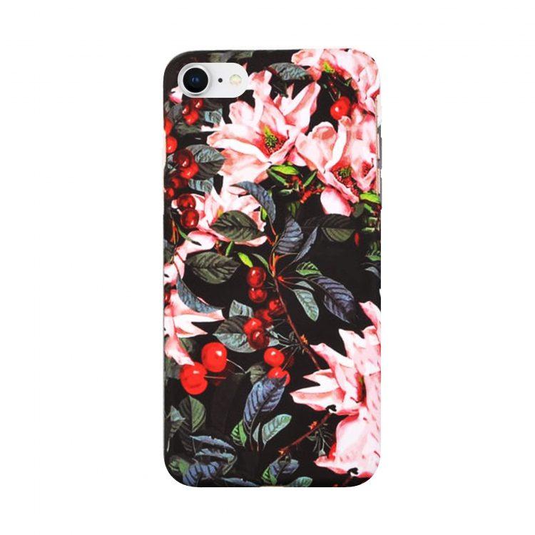 Etui Iphone 7 8 Kwiat Wiszni