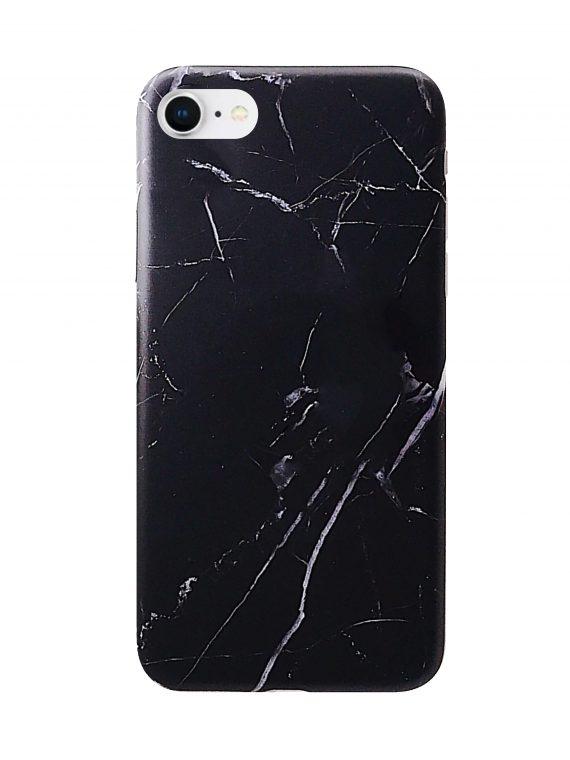 Etui Iphone 7 8 Marmur Czarny
