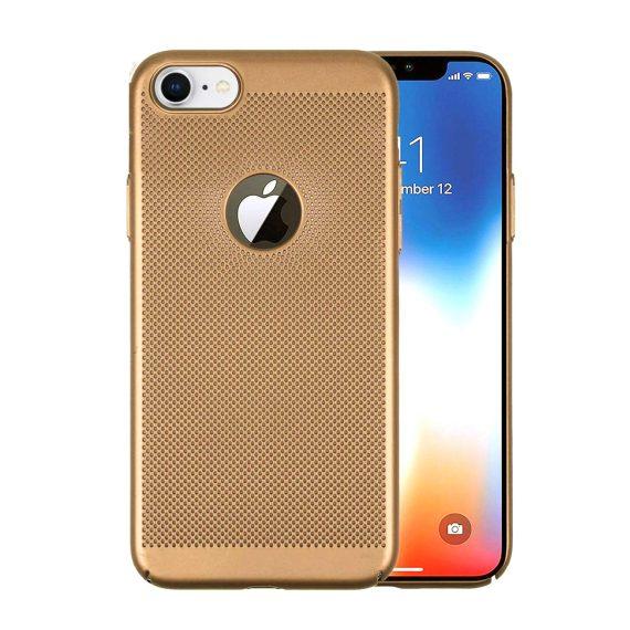 Etui Iphone 7 8 Oddychające Złote