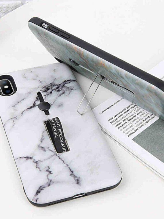 Etui Iphone X Xs Marmur Z Uchwytem 6
