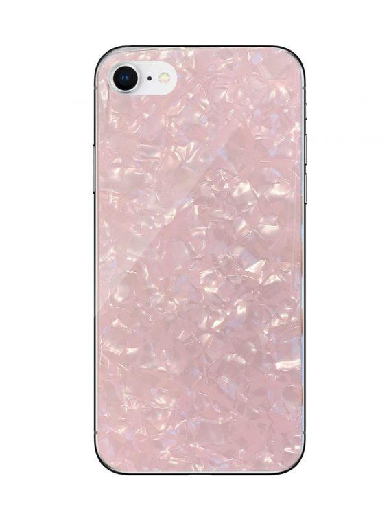 Mock Up Etui Iphone 7 8 Z Krysztal Rozowy