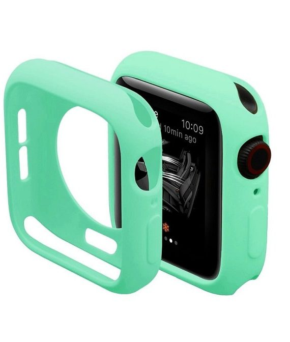 Green Silicone Apple Iwatch Etui 3 Zmiana