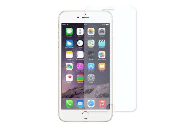 Hartowane szkło Smart Glass z białą ramką do IPHONE 6 PLUS