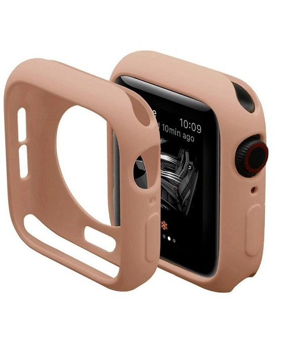 Pink Silicone Apple Iwatch Etui 3 Zmiana