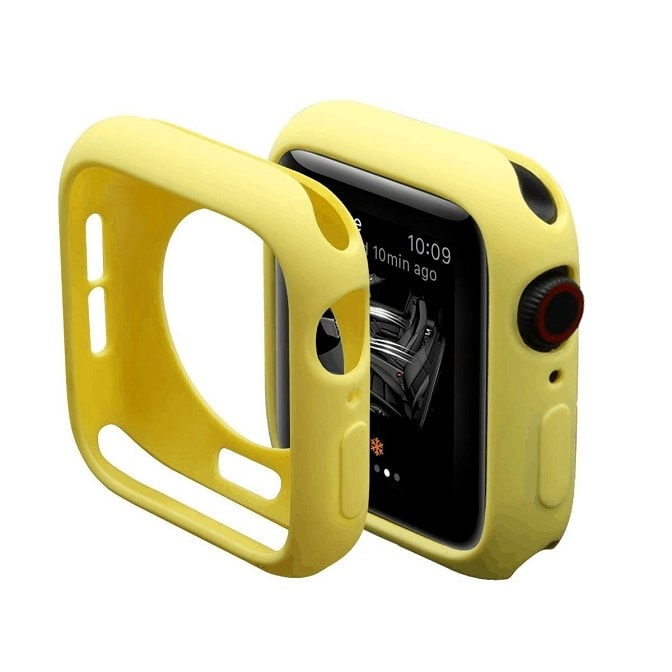 Yellow Silicone Apple Iwatch Etui 3 Zmiana