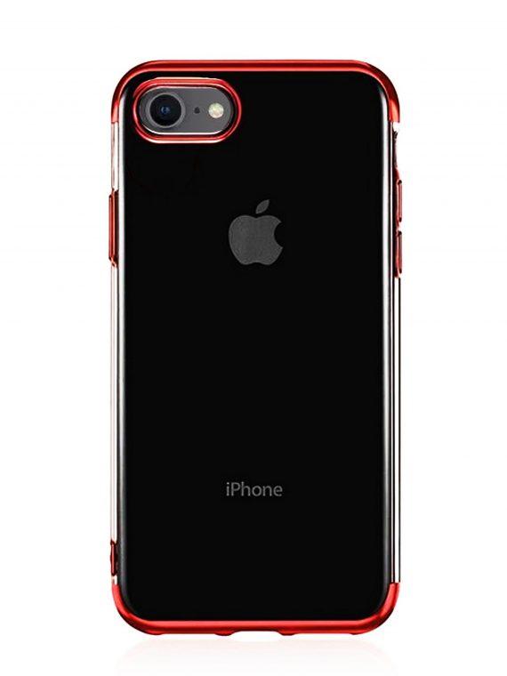 Etui Iphone 7 8 Electro Czerwone Boki