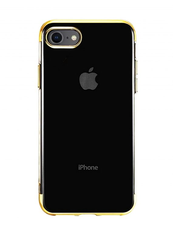 Etui Iphone 7 8 Electro Złoty